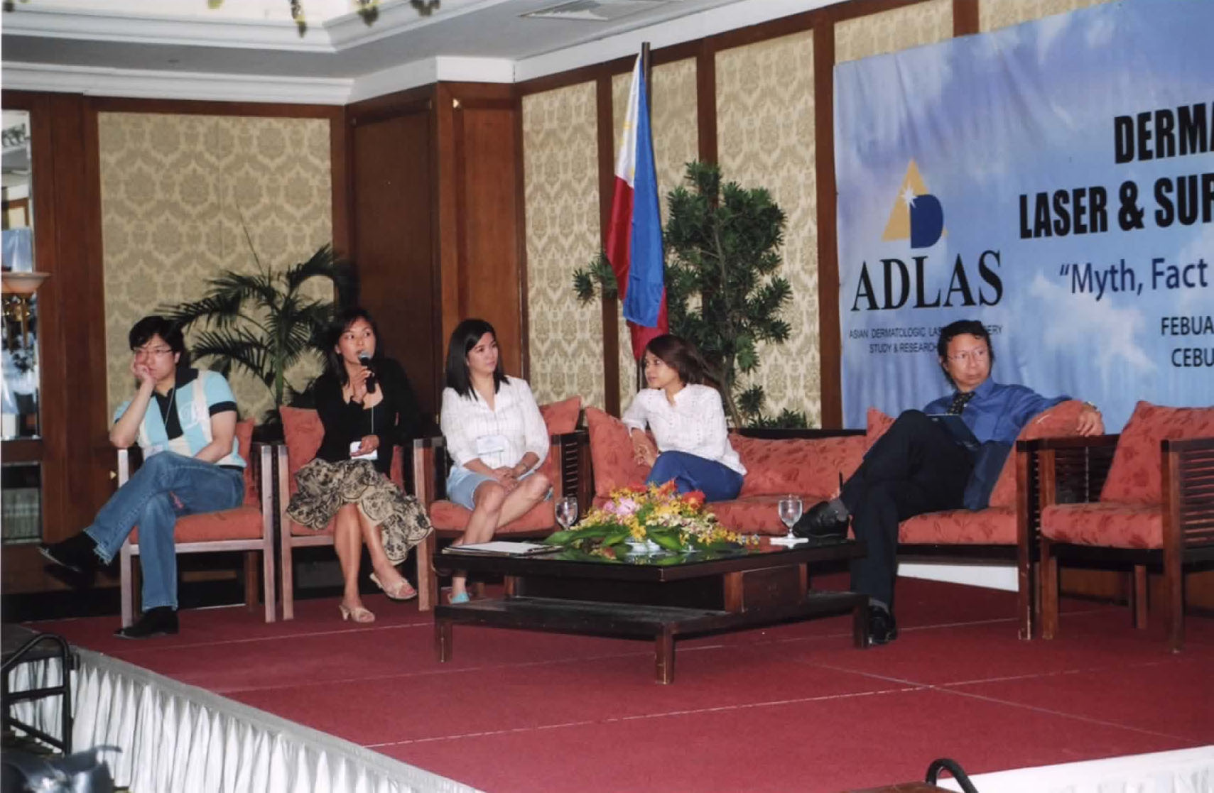 2005 -Cebu - Asian Dermatologic Lasers And Surgery Conference