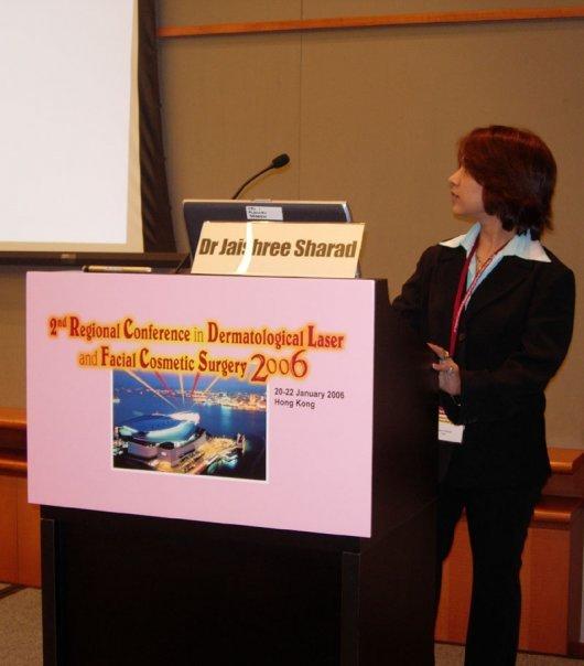 2006 -Hong Kong - 2nd Regional Conference in Dermatologic Laser at Facial Surgery