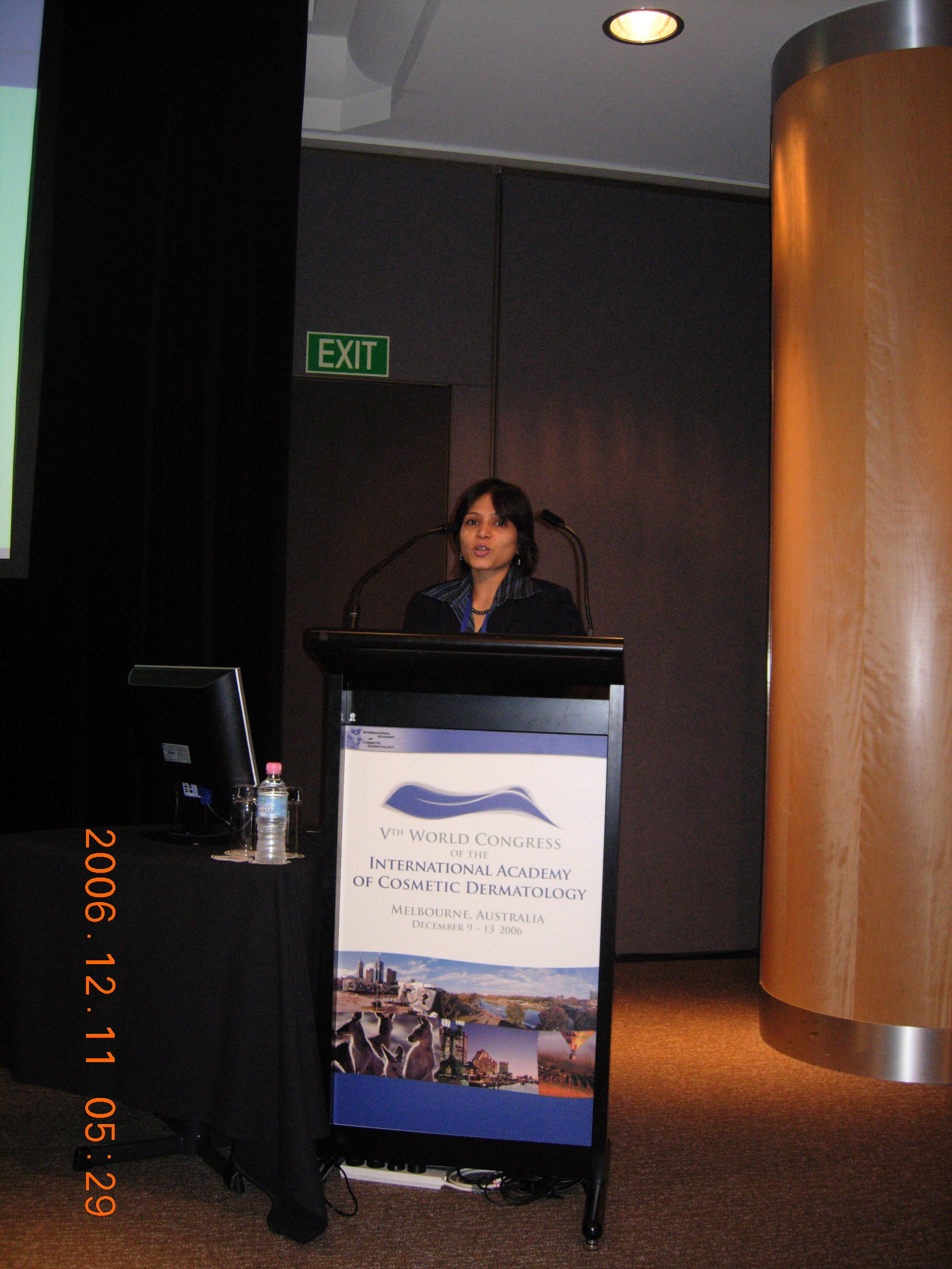 2006- Melbourne - International Academy of Cosmetic Dermatology
