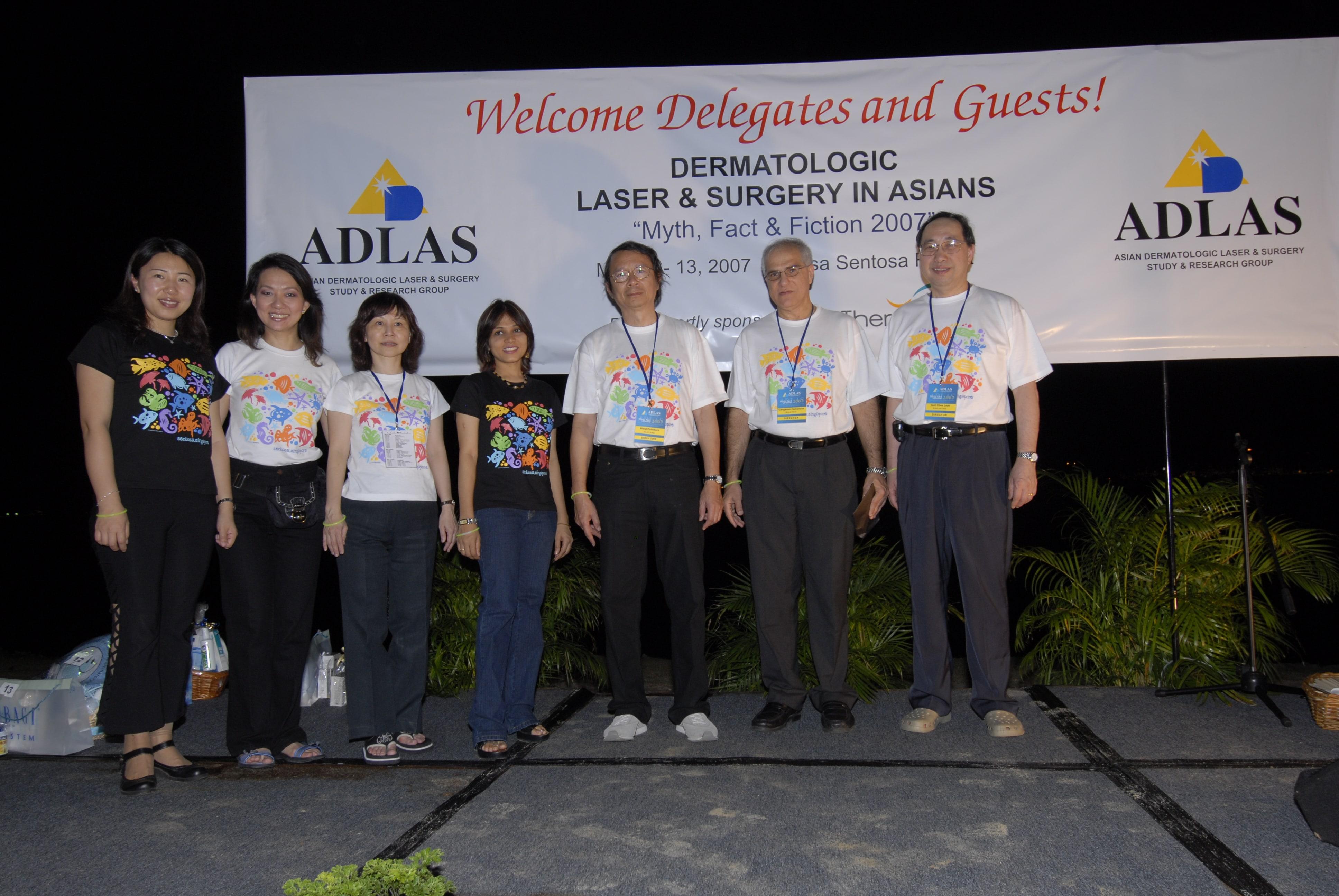 2007 -Singapore faculty at Asian Dermatologic Laser AndSurgery