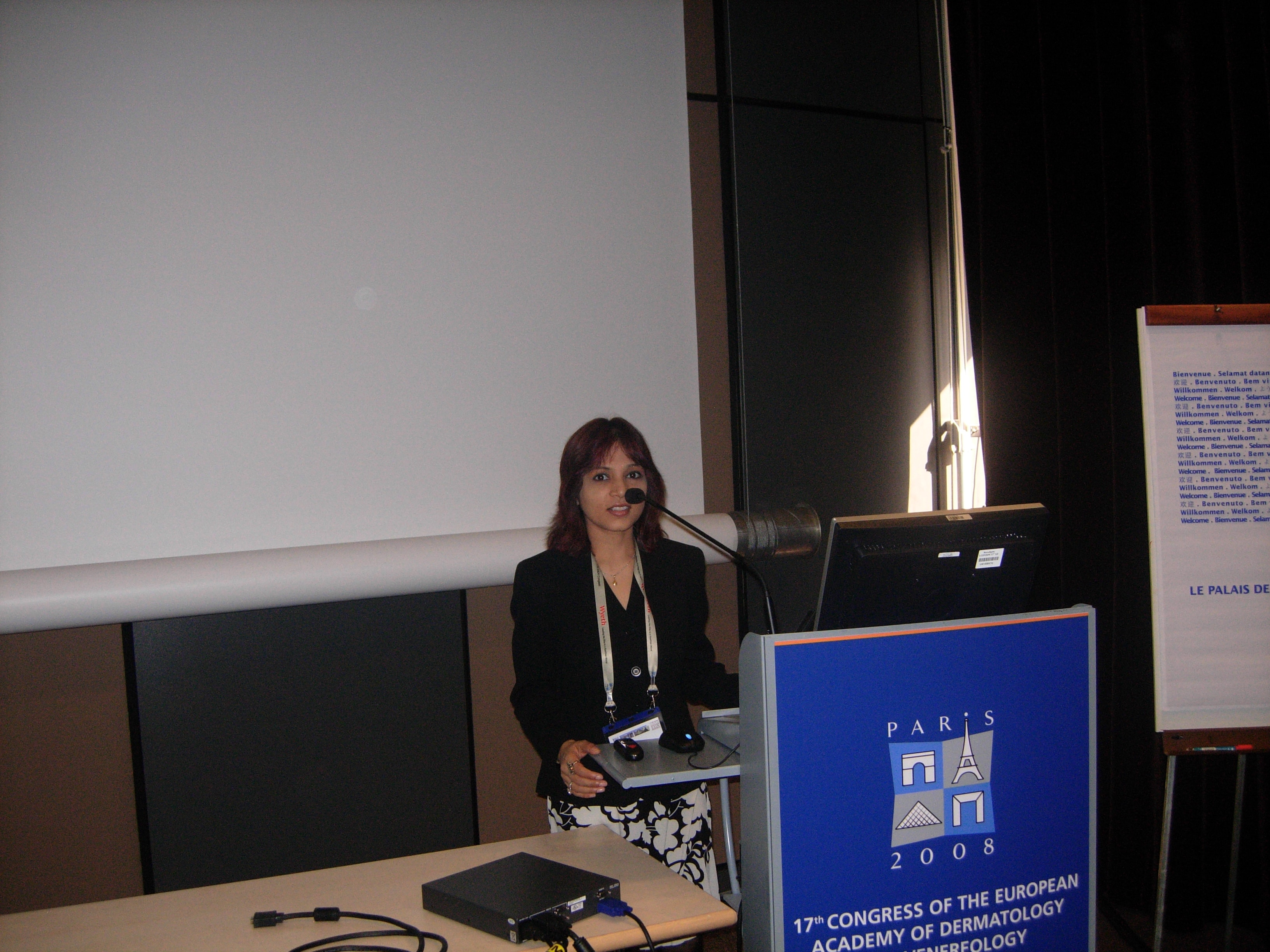 2008- Paris - 17th Congress of the European Academy of Dermatology and Venereology
