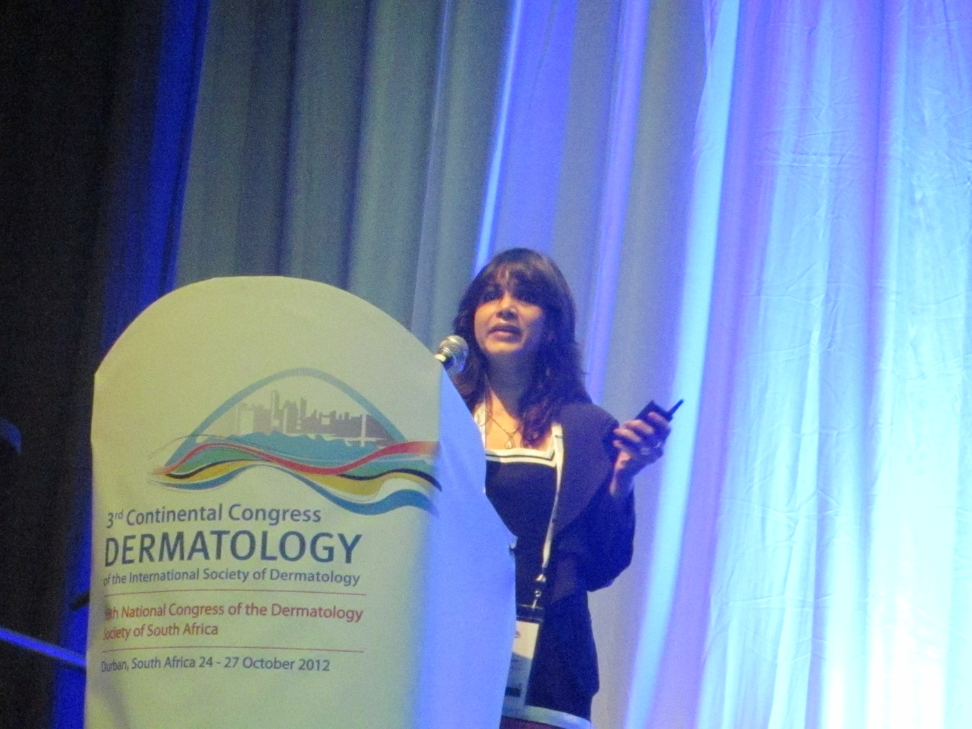 2012- 8th National Congress of the Dermatology of South Africa