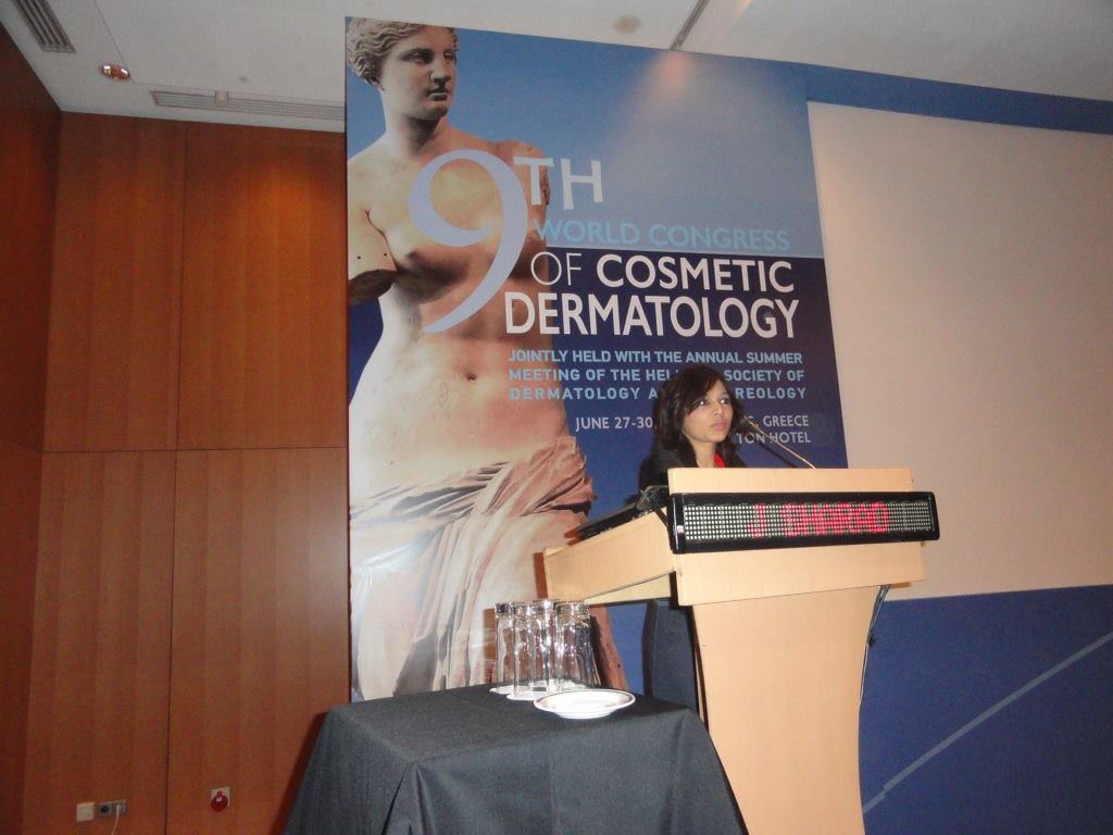 2013- Athens - 9th World Congress of Cosmetic Dermatology