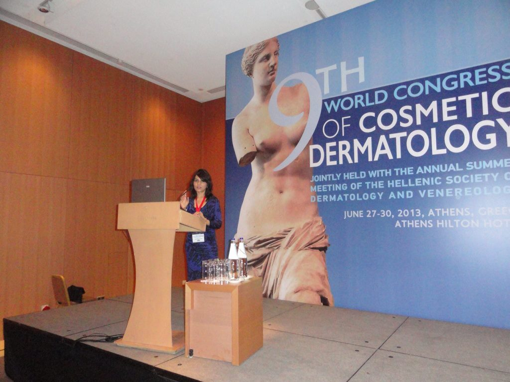 2013-Greece - 9th World Congress of Cosmetic Dermatology