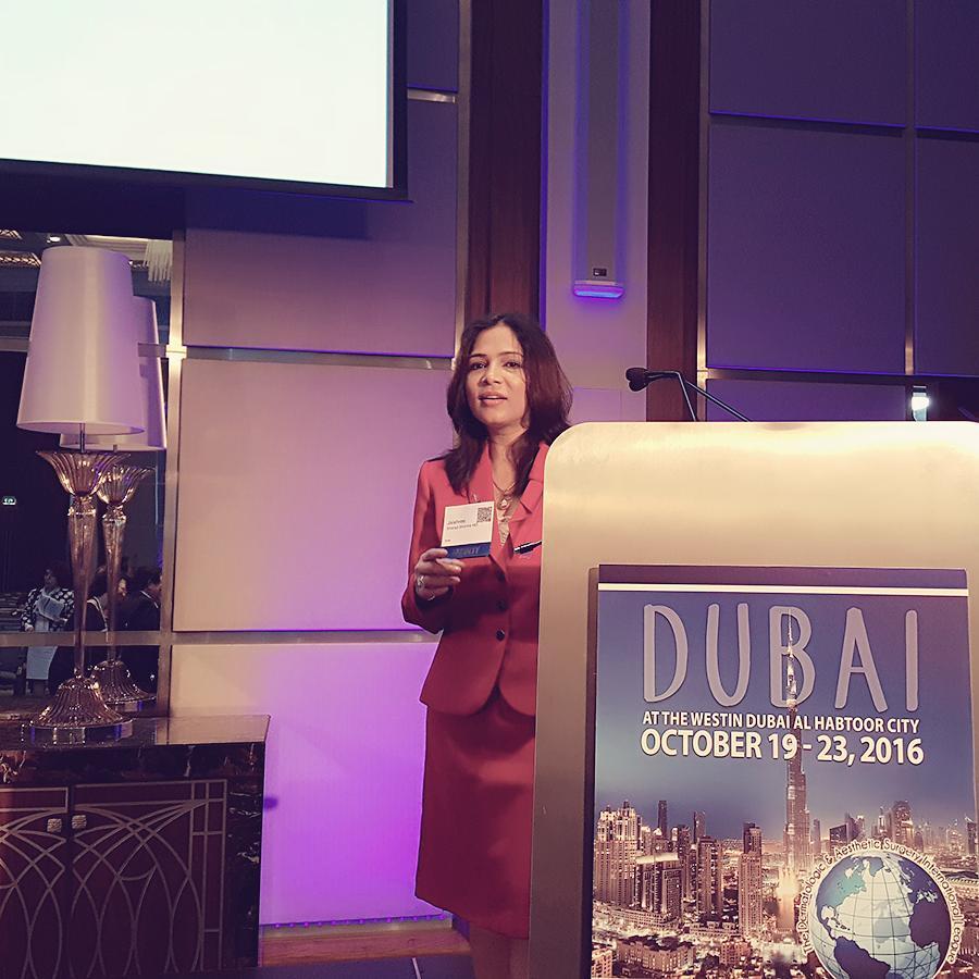 2016- Dubai –Dermatologic Aesthetic Surgery International League.