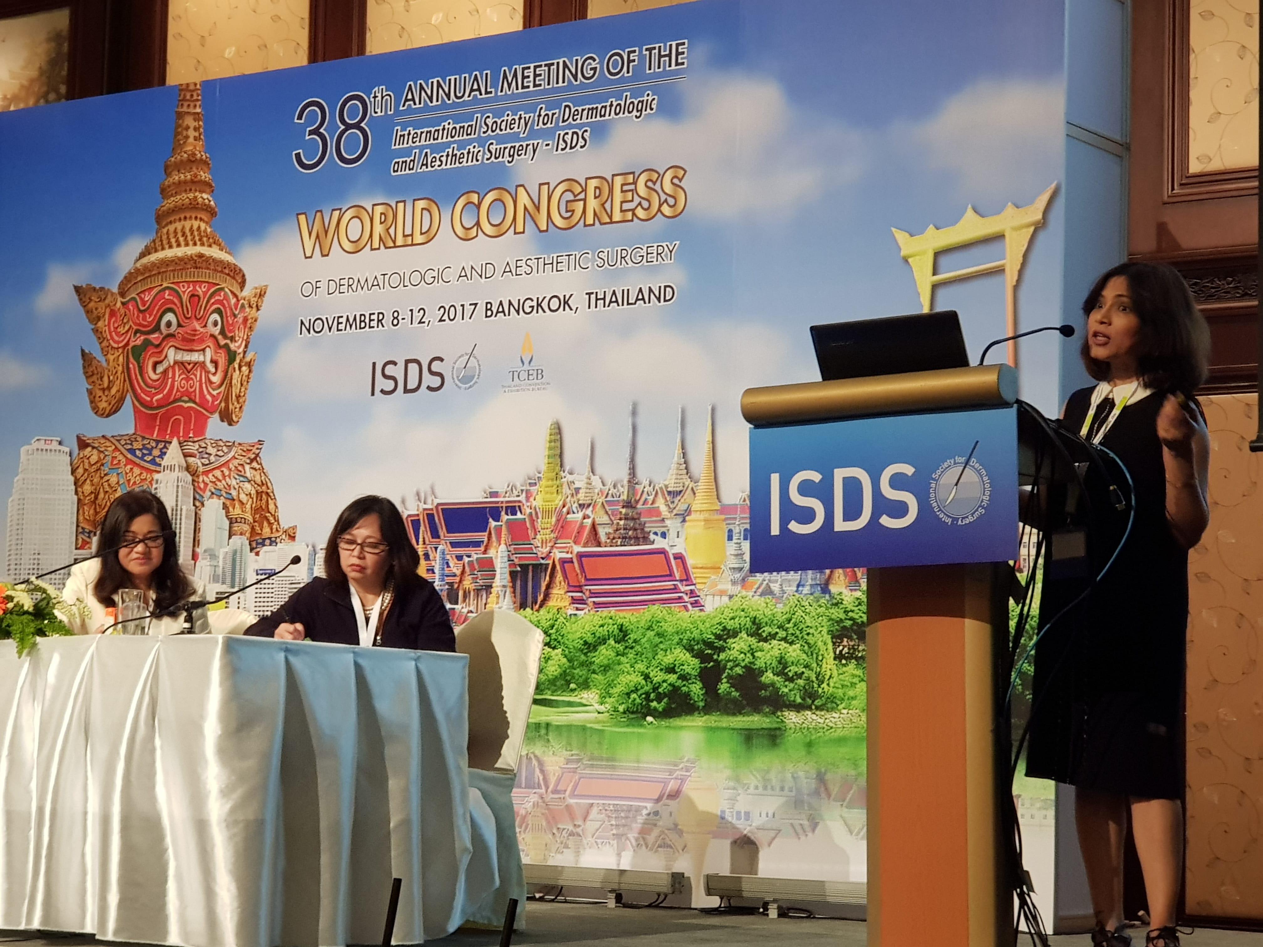 2017 -Bangkok World Congress of Dermatologic & Aesthetic Surgery