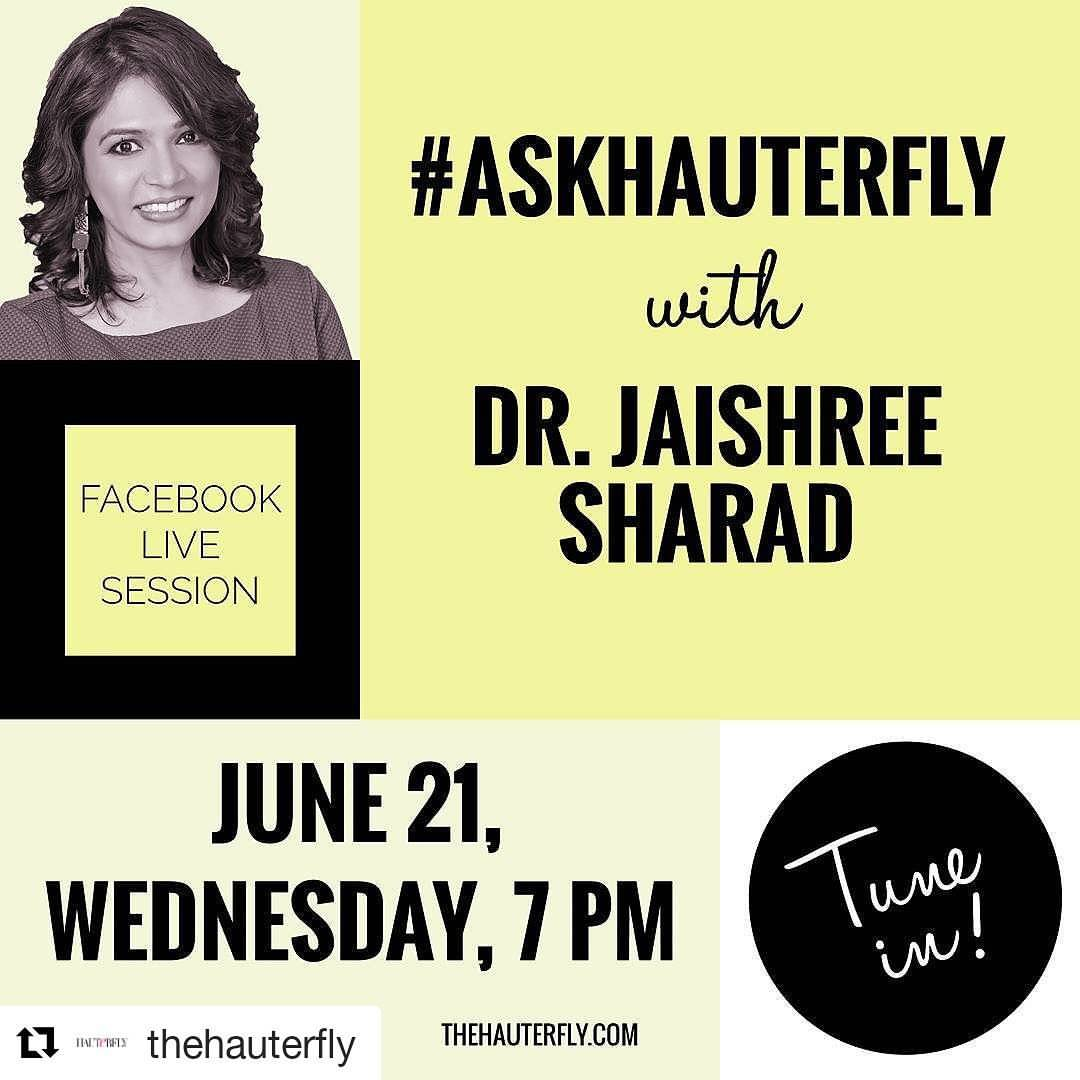 Facebook live with hauterfly