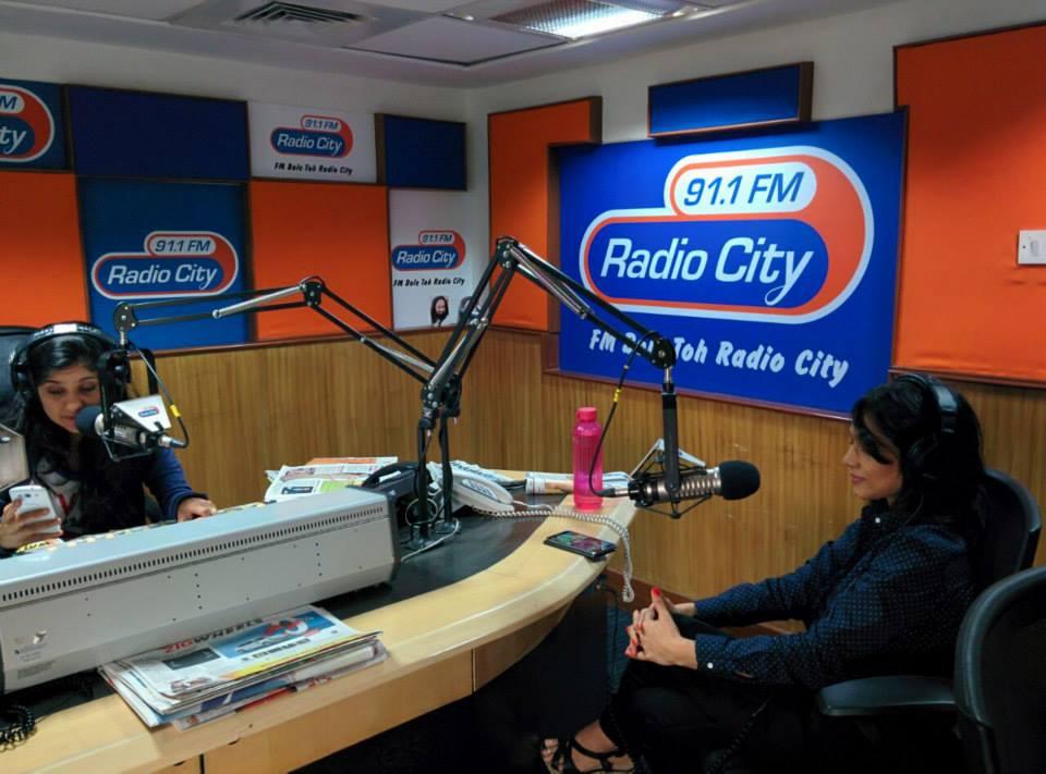 Interview at Radio City