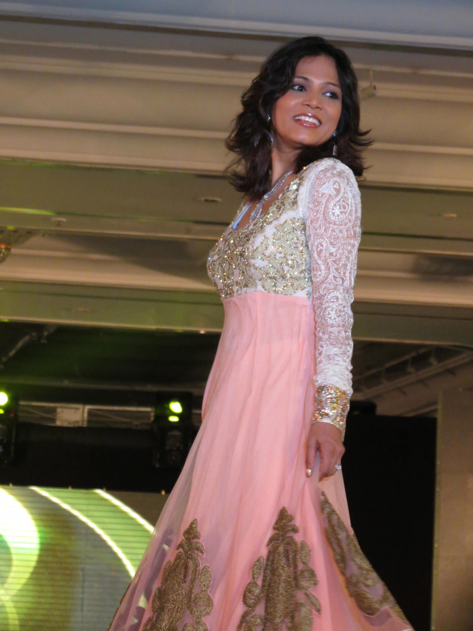 Walked the ramp for special children