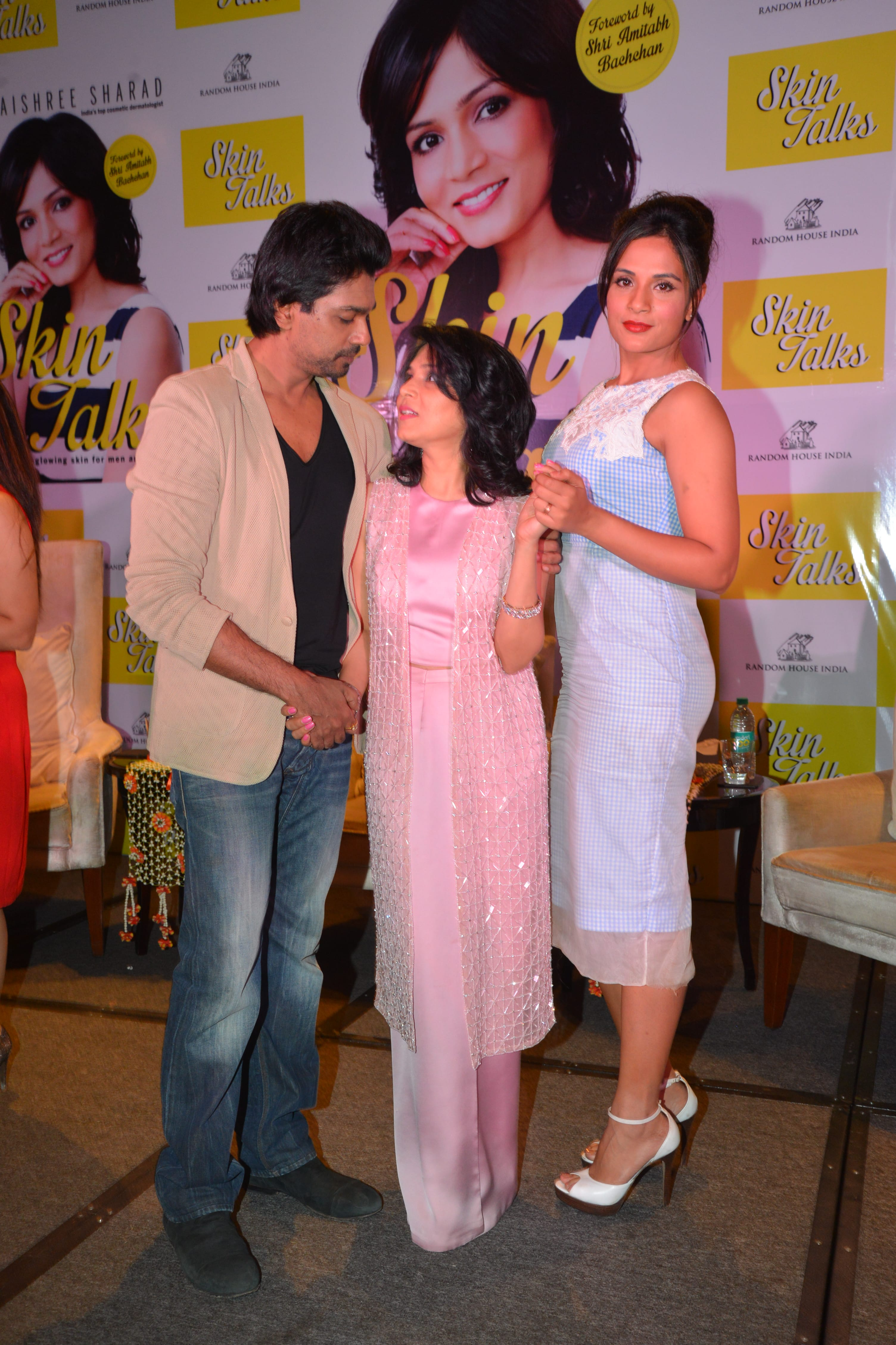 With Nikhil Dwivedi & RichaChadda