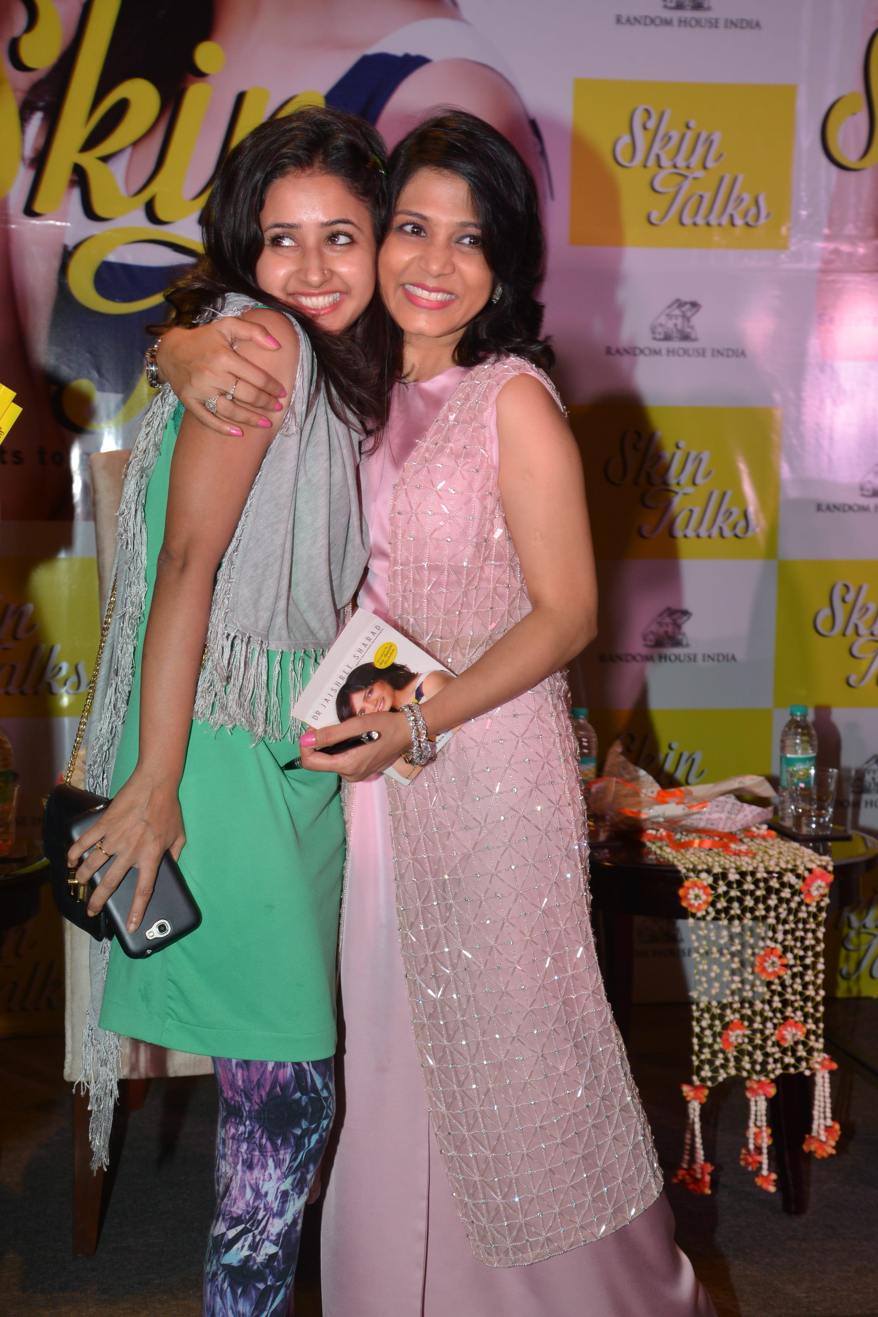 With TV actress Sana Shaikh