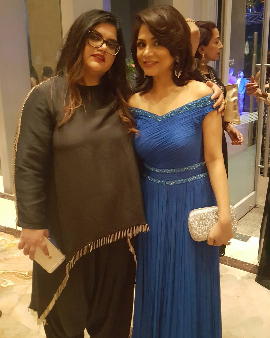With the Editor and Chief Community Officer, Femina at NYFB Awards – 2017