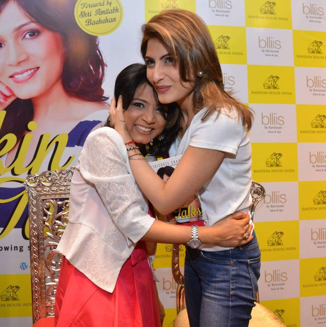 With the gorgeous Riddhima Kapoor Sahni
