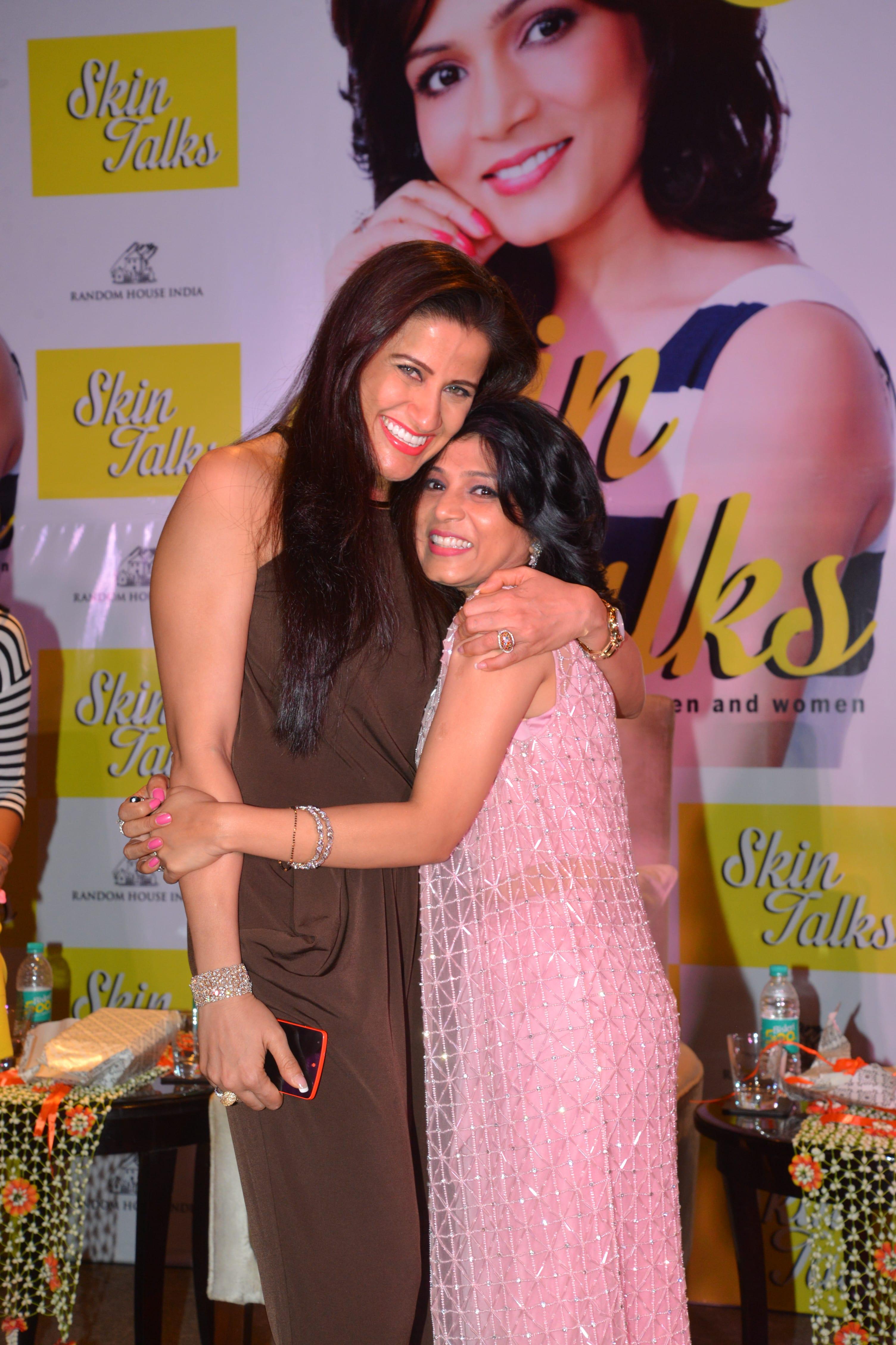 With the lovely Yasmin Karachiwala